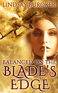 Cover for Balanced on the Blade's Edge