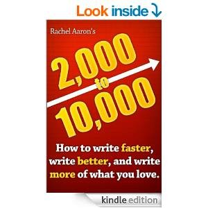 The cover for 2,000 to 10,000: how to write faster, write better, and write more of what you love