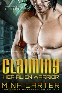 Cover for Claiming her Alien Warrior