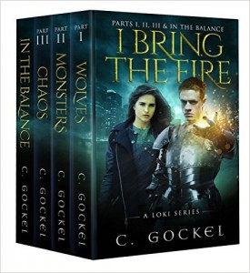 Cover for I Bring the Fire - Loki Series