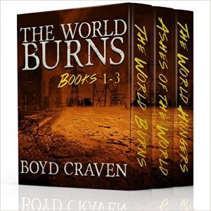 Cover for The World Burns