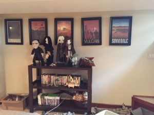 Amanda M. Lee's geek basement