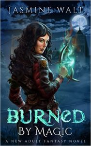 Cover for Burned by Magic