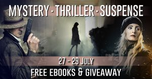 Image for mystery, thriller and suspense promo