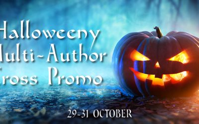 Join our Halloweeny Multi-Author Cross Promo + Giveaway ~ 29 – 31 October