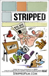 Stripped documentary poster