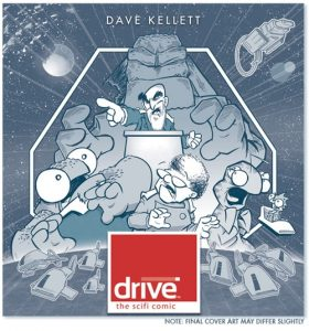 Cover image for the comic Drive which will soon be published