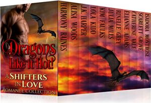 Cover for Dragons Like it Hot (Shifters in Love Book 4)